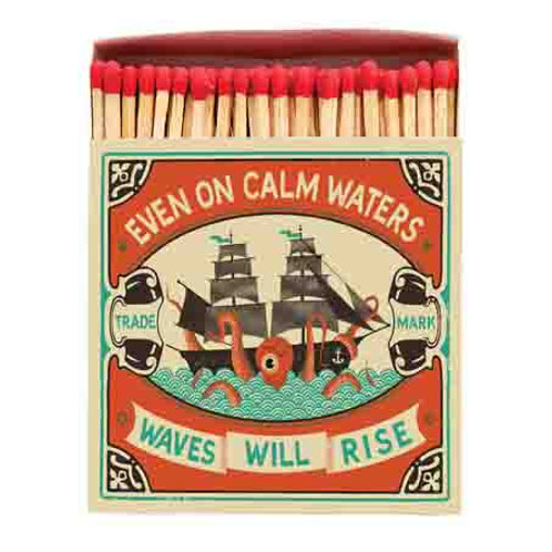 Even on Calm Waters