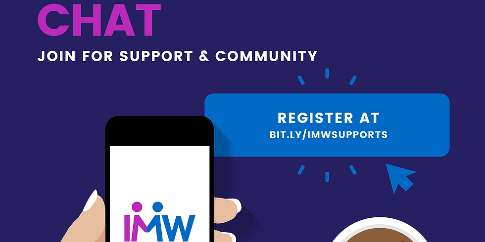 June Virtual Spoonie Chat - Support & Community Event