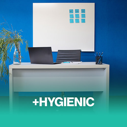 Hygienic Wall Mounted Whiteboard