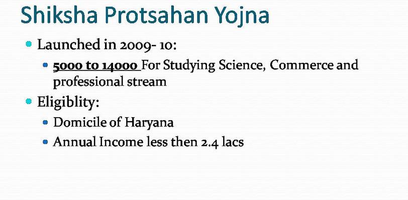 Explaination of Annusuchit Jaati Chhatra Ucch Siksha Yojna