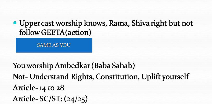 Explanation of how Scheduled Castes & Scheduled Tribes are not aware of laws