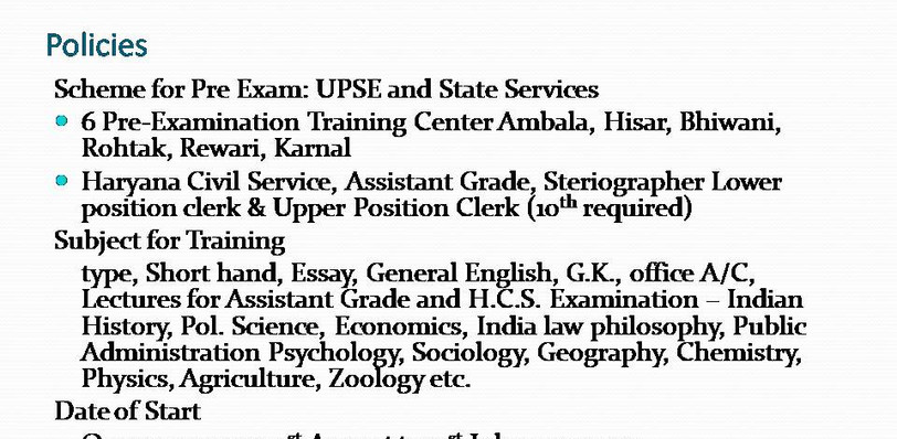 Explanation of how a Scheduled Castes & Scheduled Tribes having So much policies about Studies and Trainings