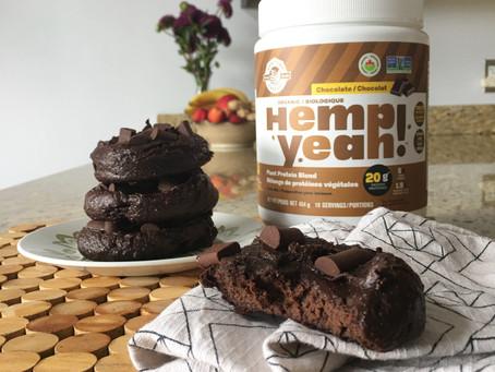 Protein Brownie Cookies | Vegan & Gluten-Free