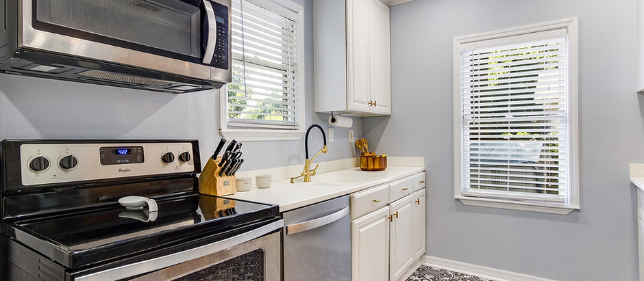 """Our """"updated"""" kitchen"""