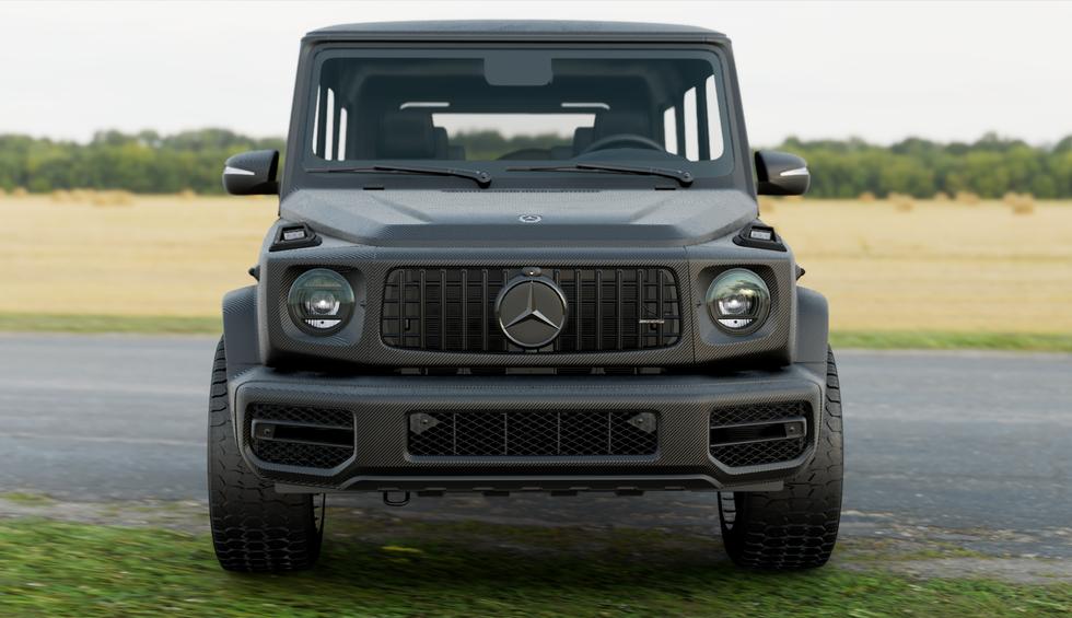 Mercedes G63 AMG - 3M Carbon Fibre Black 1