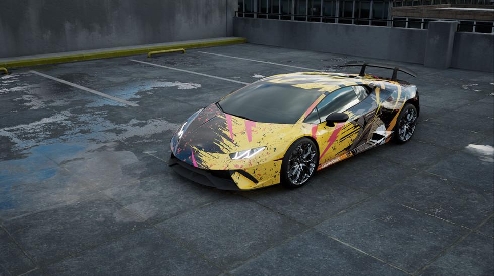 3DC - Lamborghini Huracan - Cowboy
