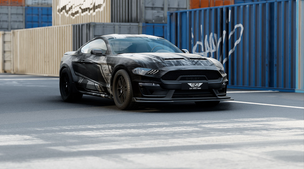 3DC - Cloudy Scratch - Ford Mustang - Vi