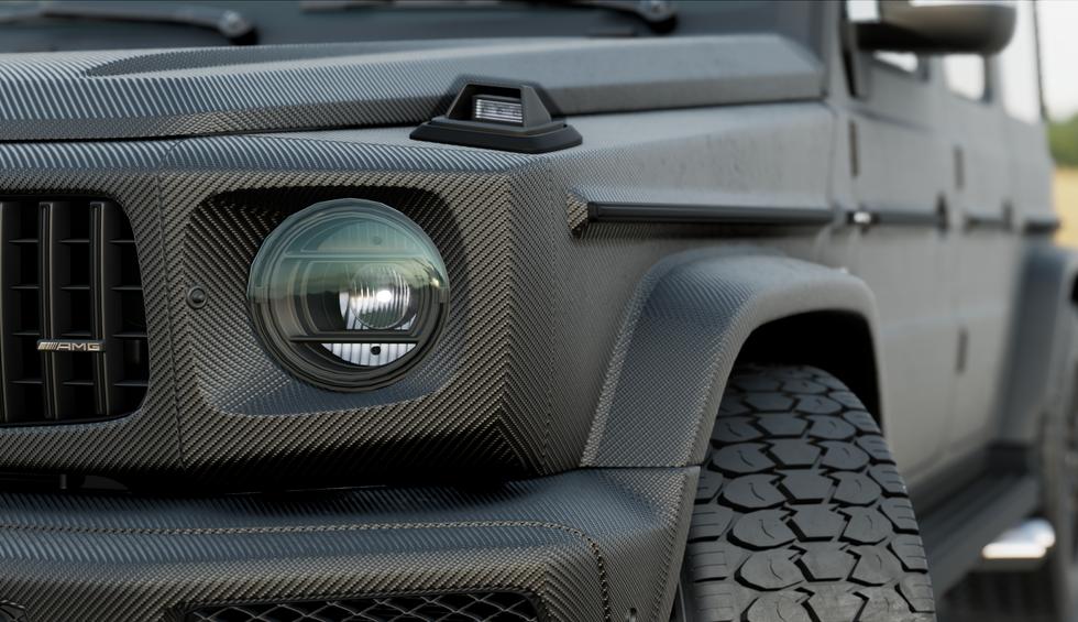 Mercedes G63 AMG - 3M Carbon Fibre Black 3