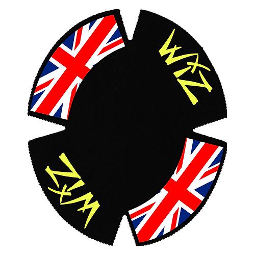 wiz backings graffix graphics knee sliders personalised motogp