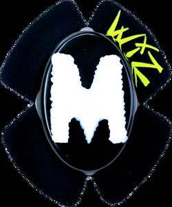 M WHT BLK
