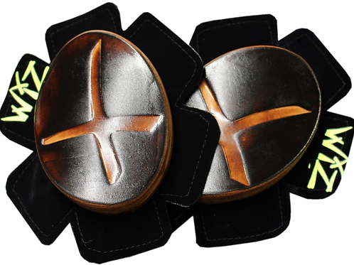 FAMED FOR OUR LEATHER KNEE SLIDERS, IF YOU LIKE A LEATHER KNEE SLIDER, THESE ARE SIMPLY THE BEST.  IF YOU DO NOT LIKE THE FE