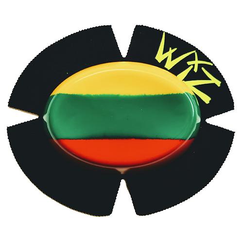 WIZ KNEE SLIDERS. BSB WSB TT RACERS LITHIUANIA FLAG