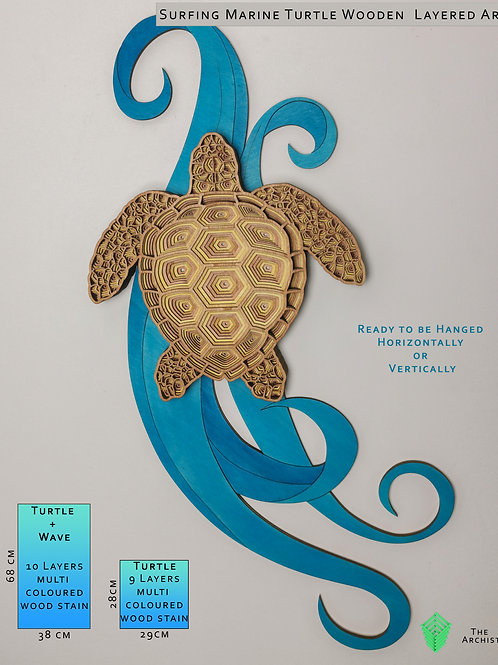 Marine Turtle Wall Art