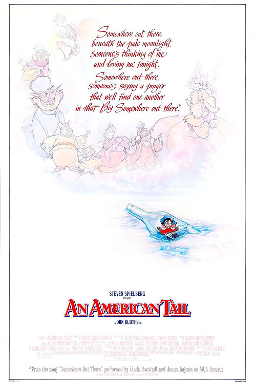 American Tail #100 - Don Bluth - 8x12 & 11x17