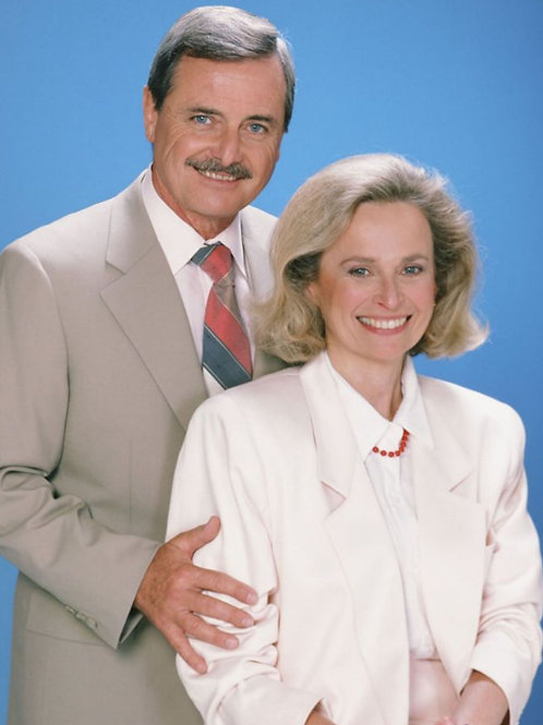 William Daniels & Bonnie Bartlett 63 (8x10)