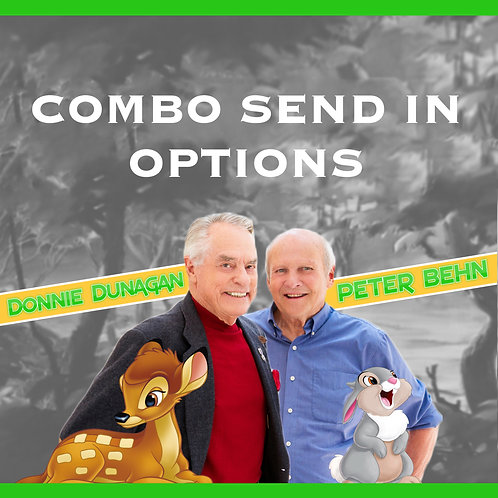 Combo Send In Options - Donnie & Peter