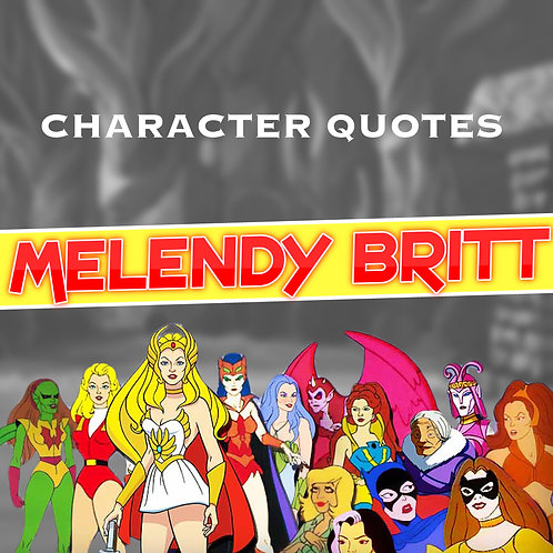 Quotes and Lengthy Inscriptions - Melendy Britt