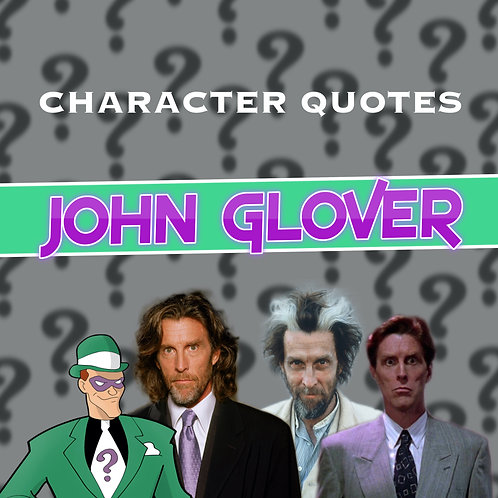 Quotes and Lengthy Inscriptions - John Glover