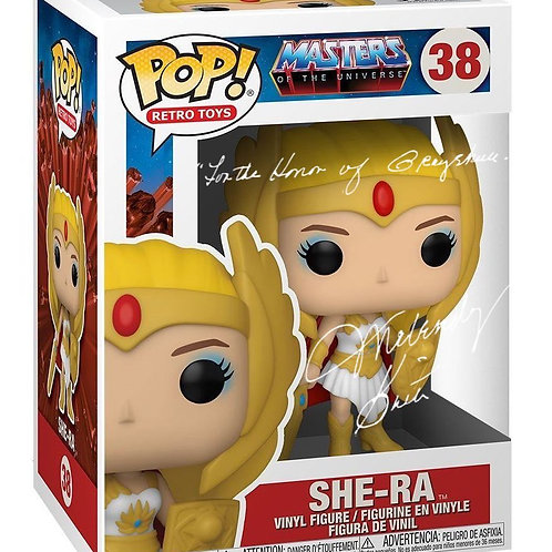 Melendy Britt (Glow In Dark She-Ra Pop Vinyl) With Quote