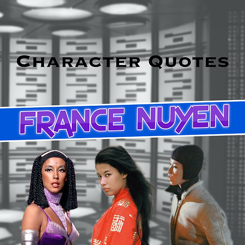Quotes and Lengthy Inscriptions - France Nuyen