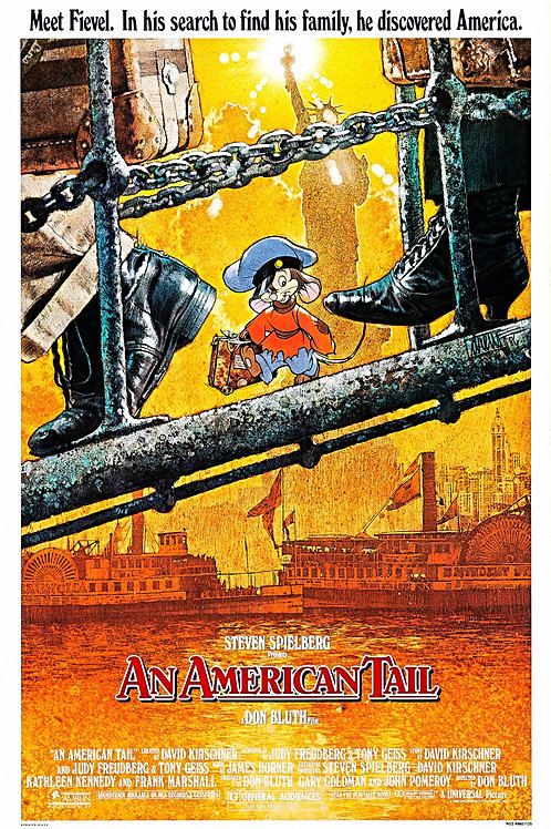 American Tail #102 - Don Bluth - 8x12 & 11x17