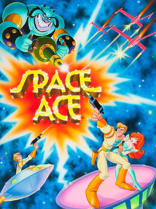 Space Ace #118 - Don Bluth, Jeff Etter, & Lorna Cook