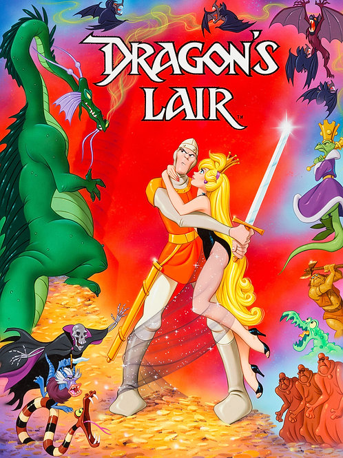 Dragon's Lairs #110 - Don Bluth 8x10 & 11x14