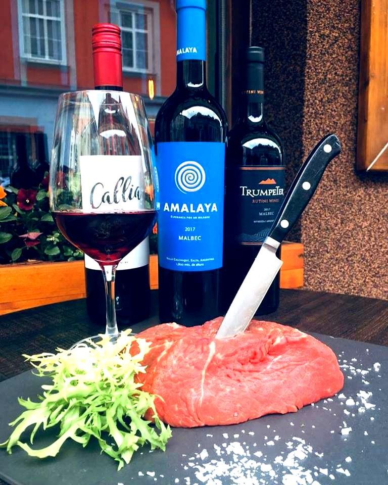 Restaurace U Havlíčků - Argentinské degustační menu Malbec 2019