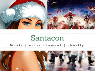 Guiseppi Hosts SantaCon Charity Party in San Francisco (December 8th)