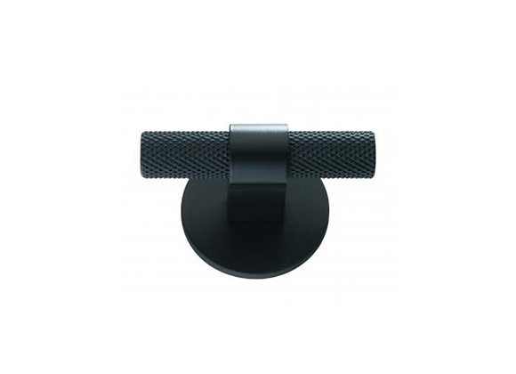 HIGHGATE KNURLED T-BAR WITH ROUND PLATE