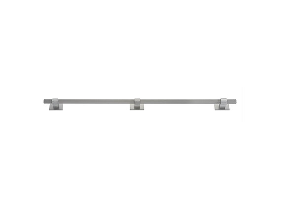 HIGHGATE KNURLED EXTRA LONG HANDLE WITH SQUARE PLATES