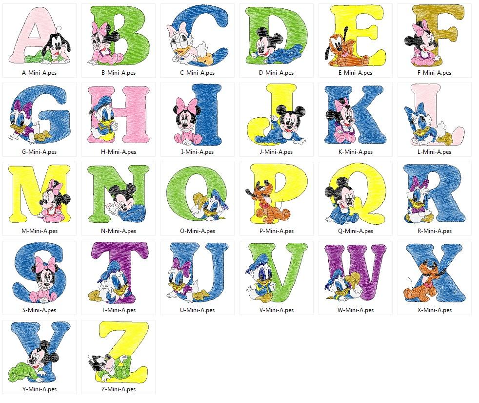 Mickey_alphabet