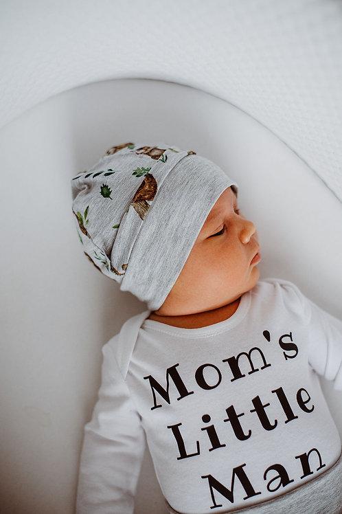Cepurīte ar Sliņķu dizainu
