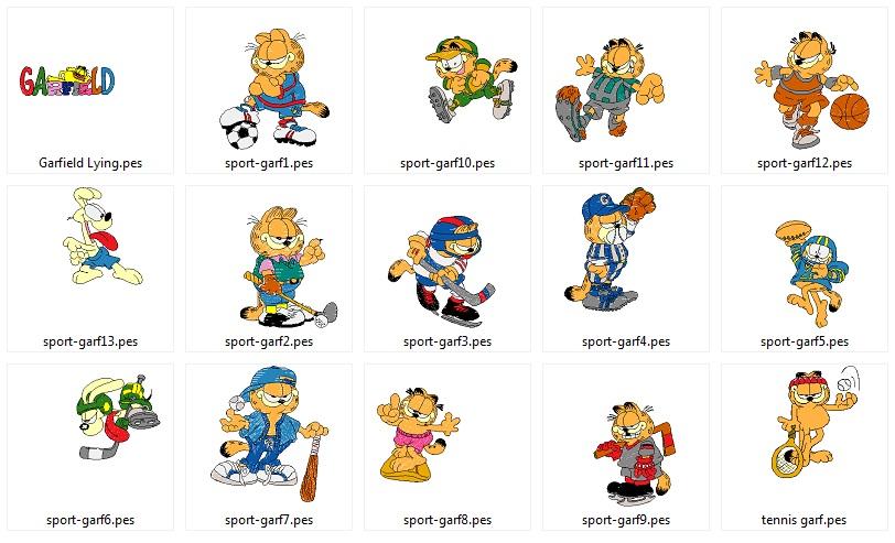 Garfield_sport