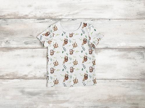 """T-krekls ar """"Sliņķu"""" dizainu"""