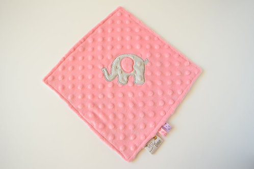 Rozā mīļsedziņa ar zilonīti