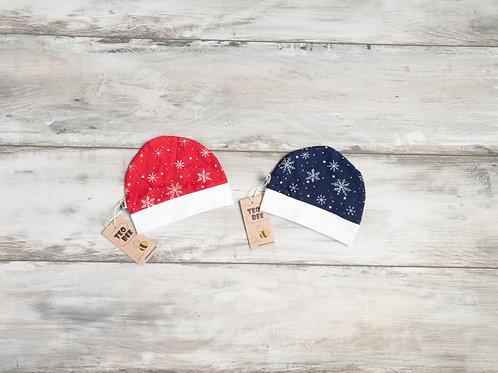 Cepurīte ar Sniegpārslu dizainu
