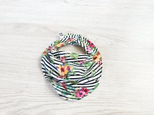 Džungļu ziedu dizaina mazuļa lacīte