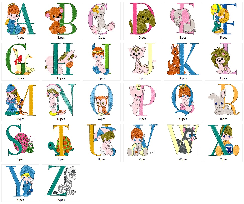Precious_alphabet