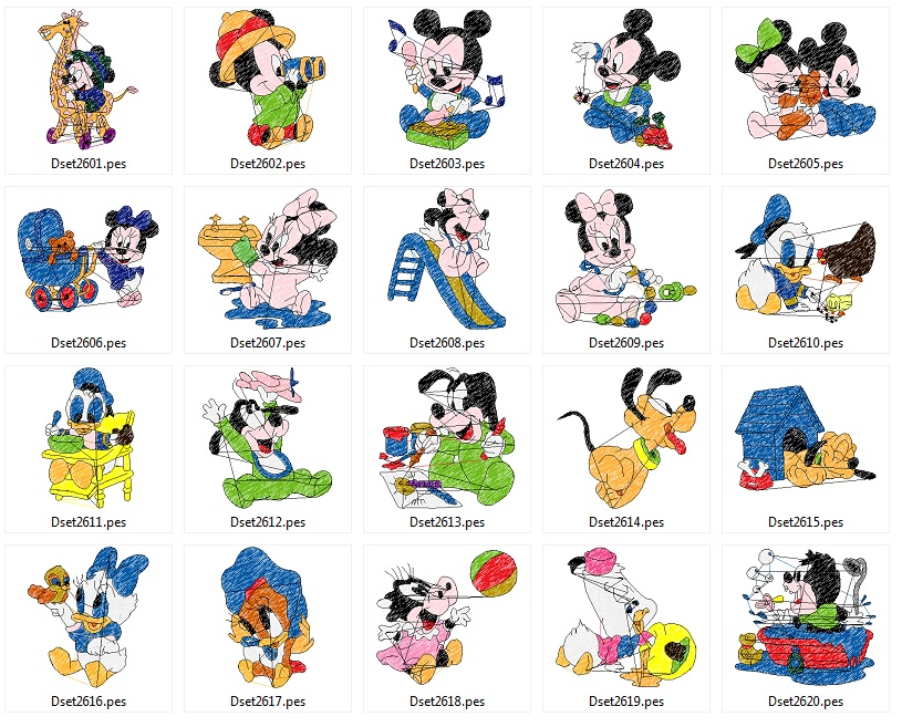 Mickey_babies