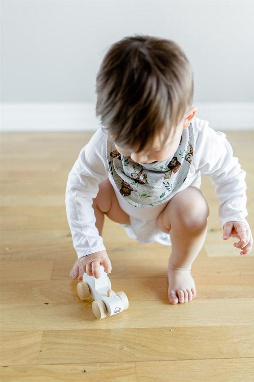 Sliņķu dizaina mazuļa lacīte