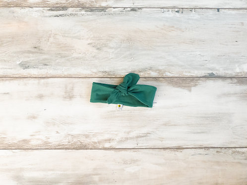Zaļa matu lenta