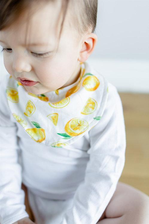 Citronu dizaina mazuļa lacīte