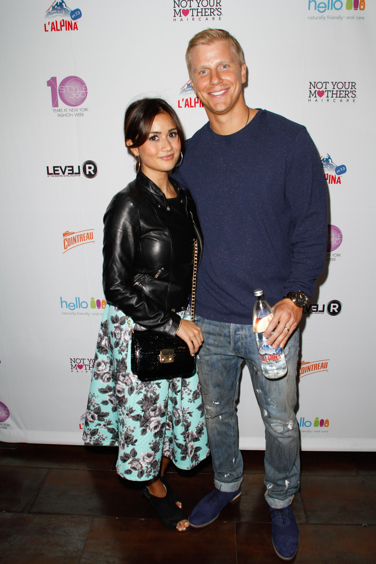 06_The Bachelors Sean and Catherine Lowe on the red carpet at the STYLE360 10th Anniversary Party