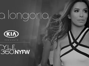 SUNRISE BRANDS & EVA LONGORIA TO PRESENT EVA LONGORIA COLLECTION SPRING 2018 AT KIA STYLE360