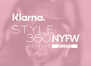 KLARNA STYLE360 PRESENTS SEE AND SHOP PRESENTATIONS FOR FALL/WINTER NYFW