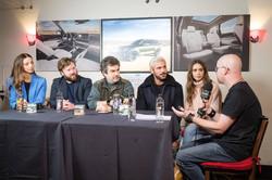 Zac Efron Lili Collins - Sundance 2019