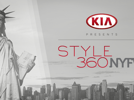 KIA STYLE360 Announces Star Studded Designer Line Up, Schedule And Sponsors For New York Fashion Wee