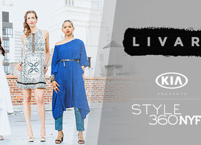 NEW BRAND LIVARI CONVERTS INDUSTRY EXCESS INTO EMPOWERED FASHION at KIA STYLE360
