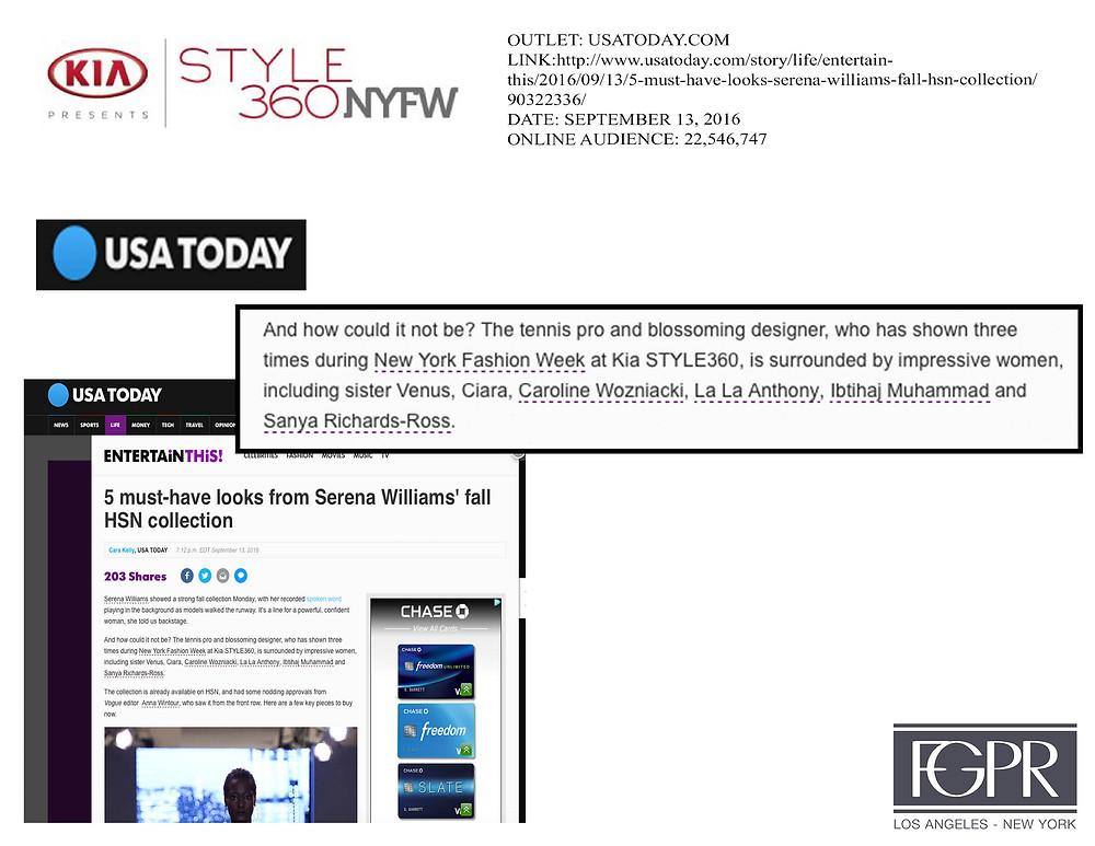 USA Today talks Kia STYLE360
